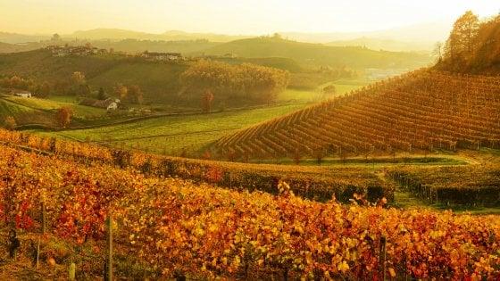 Colori D'autunno In PIEMONTE