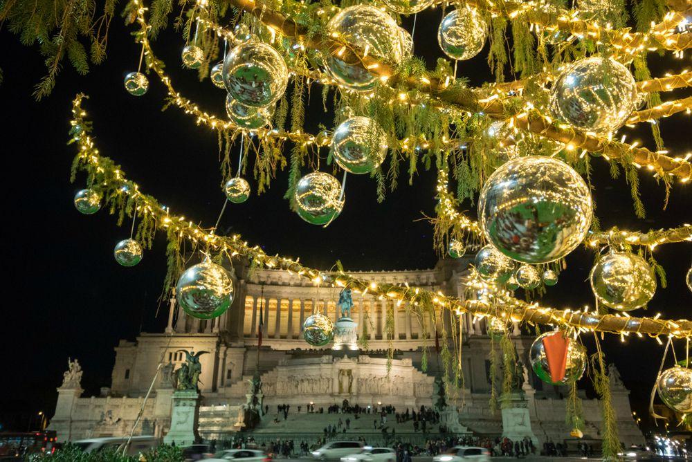 ROMA La Grande Bellezza Vestita Dell'atmosfera Natalizia
