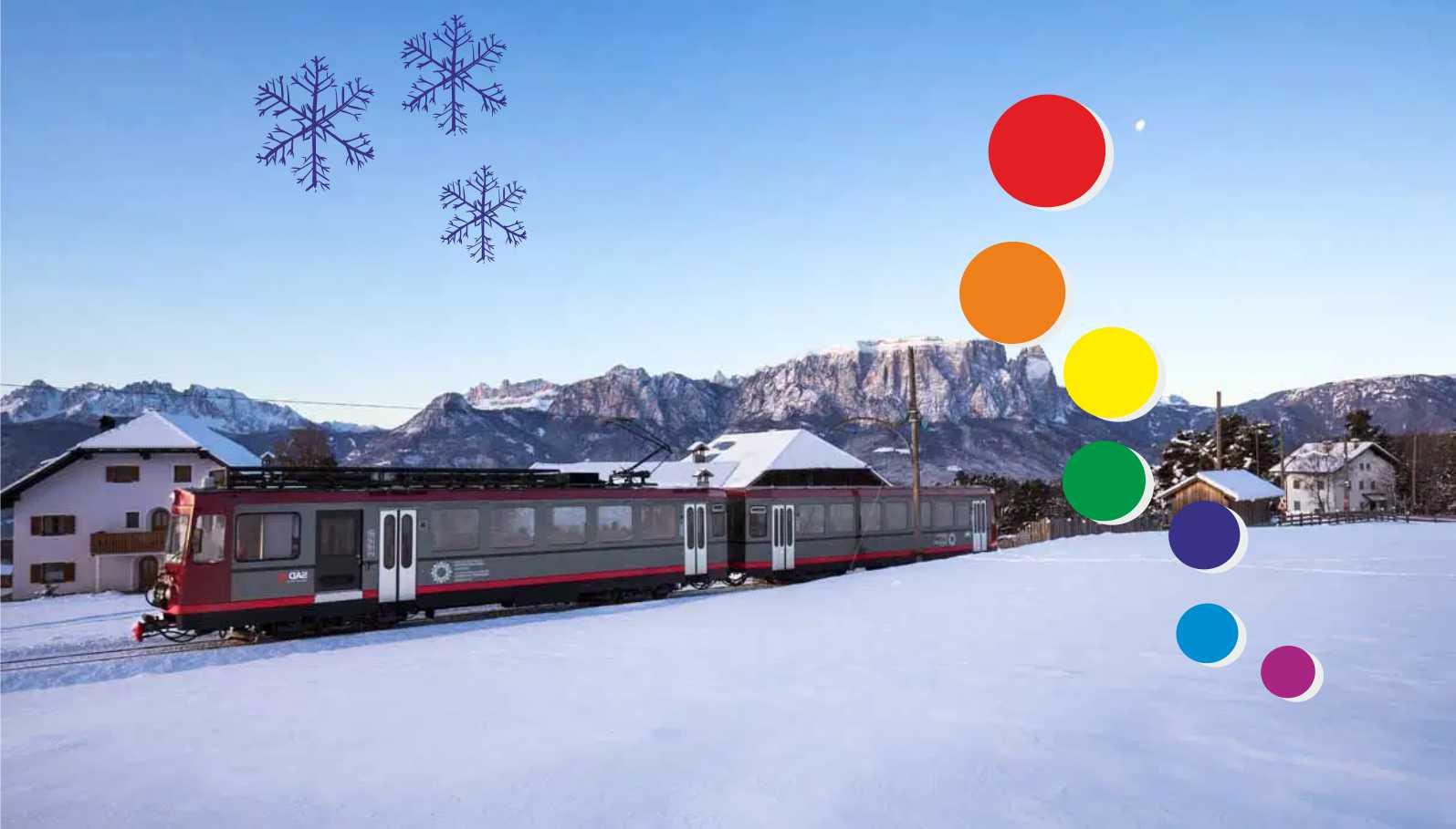 Il Trenatale Del Renon E Le  Atmosfere Natalizie Nei  Mercatini Più Suggestivi Del  Trentino Alto Adige